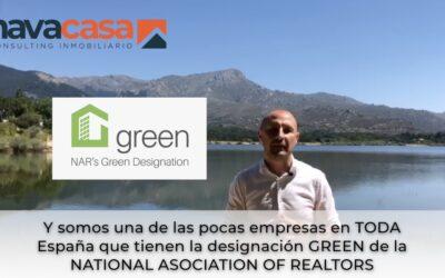 Navacasa obtiene la certificación Green de la NAR